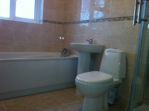 plumbers manchester referbished bathroom