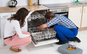 plumber dishwasher installation