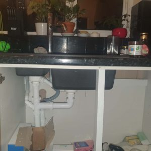 kitchen sink unblocked by manchester plumber